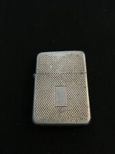 Collectible Storm King Windproof Pocket Cigarette Lighter Silver Tone