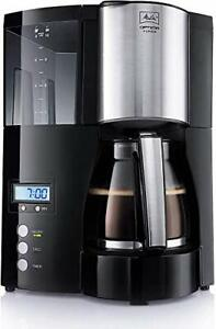 Melitta Filter Coffee Maker with Glass Pourer, Hot Hold and Timer Function, O...
