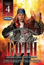 Uli Jon Roth 2016 New York City Concert Tour Poster-Neoclassical Metal,Scorpions