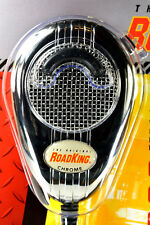 Chrome Noise Canceling CB Microphone Chrome Flex Cord - RoadKing RK56CHSS