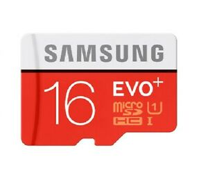 Samsung 16GB Class 10 Memory Card Ultra Micro SD SDHC UHS-1 Adapter New