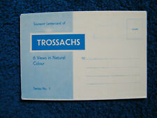 Old Pictorial Lettercard of the Trossachs, Stirlingshire, with Six Views.