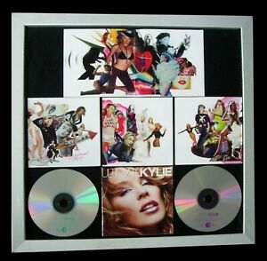 KYLIE MINOGUE+Ultimate+LTD+GALLERY QUALITY FRAMED+EXPRESS WORLD SHIP+Not Signed