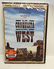 LA CONQUISTA DEL WEST - EDIZIONE SPECIALE -  3 DVD