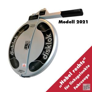BS-Disklok S 390 SILBER 2021 Lenkradkralle - Lenkrad-Ø von 35-38,5 cm