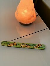 Original Handmade Painting Incense Burner -by LisArte. stick holder New!