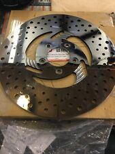 "Polished stainless 11-1//2/"" Front Floating Brake Disc replaces OEM No 44156-00"