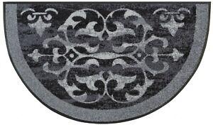 KLEEN-TEX wash+dry Wohnmatte / Fußmatte Round Ornaments 026344 ca. 50 x 85 cm