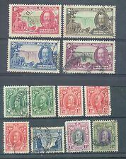 Rodesia del Sur 1931-5 Plata Jubileo Plus 8 otros usado ver descripcion