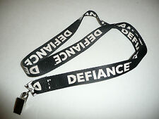 Defiance Video Game Neck Lanyard Keychain Black Clip Promo TV Show Scifi SYFY