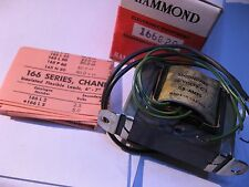 Hammond 161G20 Transformer 115V PRI 20V SEC CENTER TAPPED 60 Hz 0.5A - NOS