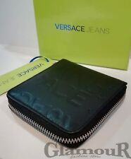 Versace Jeans portafoglio uomo wallet linea A dis 1 nero 116a8a6317c