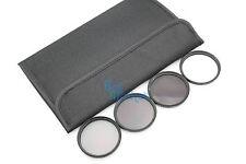 77mm ND2+ND 4+ND 8+Softfilter ND Kit Set mit ETUI für DSLR Kamera Objektiv #01