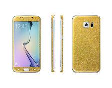 2 x Glitzerfolie Samsung Galaxy S7 Bling Skins Sticker Full Body Schutzfolie