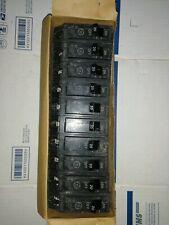 Lot of 10 Ge Thql1120 20 Amp, Single pole Circuit Breakers
