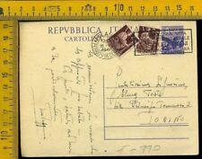 Repubblica cartolina intero postale S 770 democratica