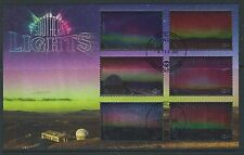 NEW ZEALAND 2017 SOUTHERN LIGHTS MINIATURE SHEET FINE USED