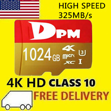 Micro SD 512GB 1TB Card Class 10 Flash Memory Card for Phone Camera High Speed