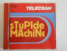 TELECRAN : STUPIDE MACHINE || 2 x CD ALBUM | PORT 0€