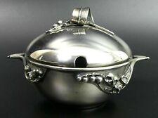 More details for art nouveau silver plated sucrier c.1900