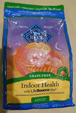 Blue Buffalo Indoor Health Natural Adult Cat Food, Chicken & Brown Rice 4.5 lbs