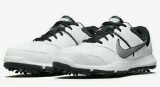 New Nike Durasport 4 Golf Shoes Cleats 844551-100 Men's Size 9.5W