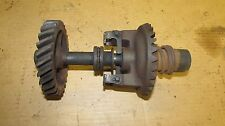 John Deere 60 Low Seat Standard Governor Shaft and Gear Assembly