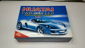 HUATAI HT-800A TWO-WAY LCD VEHICLE SECURITY SYSTEM NIB