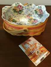 Longaberger 1999 Mother's Day Basket - Tea for Two