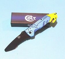Colt pocket knife Assisted Opening Police Rescue EMS knife EMT Free S&H