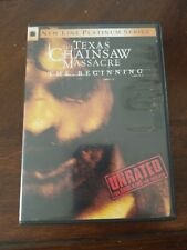 The Texas Chainsaw Massacre: The Beginning (Dvd, 2007, Unrated) insert sequel