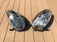 JDM 08 Nissan March Micra K12 Halogen Headlights Lamps Lights Set OEM