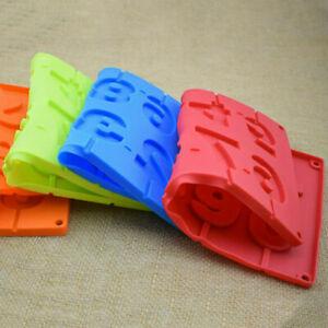 Silicone Lollipop Mold Ice Candy 3D DIY Sugar Craft Fondant Cake Decorating Tool