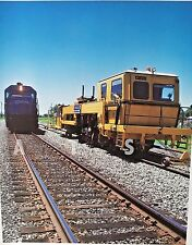 Color 8x10 Photograph of Conrail SD40-2 and CAT Equipment