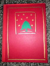 16 Hallmark Navidad Tarjetas y Sobres Vintage Juego Árbol Vacaciones Joy Nuevo