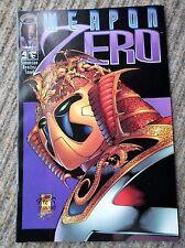 Weapon Zero, Vol 2 No 4, 4th June 1995, Image Comics