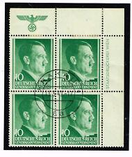 Germany WW2 Third Reich Symbols Poland Occupation Block stamps 1942