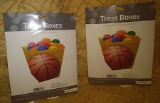 Basketball Themed Treat Boxes-Set of 8 boxes