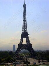 "<Eiffel Tower under Sun> Cityscapes canvas Prints Medium (Up to 30"") 0.25""border"