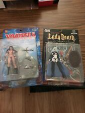Vampirella And Lady Death Action Figures