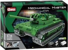 QIHUI 8011 Panzer 2in1 RC Klemmbausteine Militär Flak Modell ferngesteuert NEU