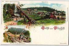 Ansichtskarten aus Thüringen mit dem Thema Eisenbahn & Bahnhof