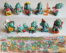 Die Dapsy Dino Family - Komplettsatz + BPZ - KPS - 1997