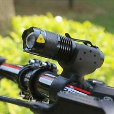 3000LM CREE Q5 LED Bike Bicycle Waterproof Head Light Zoomable Torch Flashlight