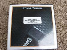 John Deere 644J 724J Loader Operation & Test Shop Service Repair Manual TM2075