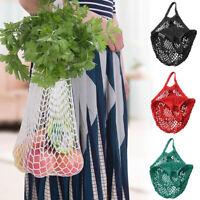 Mesh Net String Einkaufstasche Obst Gemüse wiederverwendbare Aufbewahrungstasche