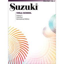 Suzuki Viola School - Volume 3 - International Edition - Book