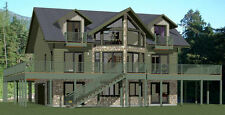 40x32 House -- 5 bedroom 4 Bath -- 2,932 sqft -- PDF Floor Plan -- Model 1A