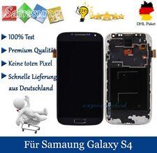 Für Samsung Galaxy S4 i9505 LCD Display Touchscreen Glas Mit Rahmen Schwarz