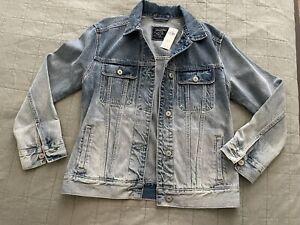 Abercrombie & Fitch Women's Denim Jacket, Size M
